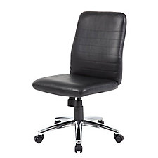 Armless Retro Vinyl Task Chair, CH51672