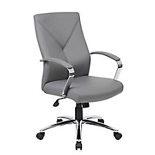Contemporary Vinyl Conference Chair, CH51688