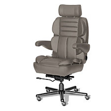 Galaxy 24/7 Big and Tall Chair - Leather Front and Vinyl Sides, CH50787