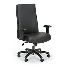 24-Hour Big & Tall High-Back Leather Chair, CH52343