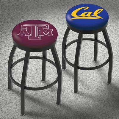 Furnish Your Basement or Bar With Our College Team Logo Bar Stools!