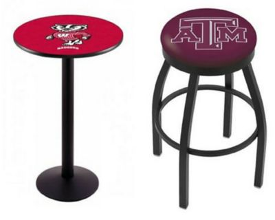 Pleasant Furnish Your Basement Or Bar With Our College Team Logo Bar Short Links Chair Design For Home Short Linksinfo