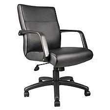 faux leather conference chairs