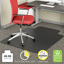 "Commercial Chair Mat with Lip 45""W x 53""D, CH52054"