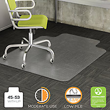 "Moderate Use Chair Mat with Lip 45""W x 53""D, CH52050"