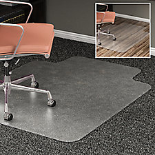 "All Surface Chair Mat with Lip 45""W x 53""D, CH52067"