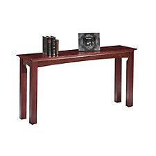 "Del Mar 60"" Long Wood Veneer Entryway Table, CH50295"