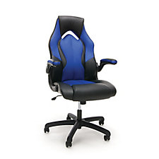 Essentials Faux Leather High Back Gaming Chair, CH51838