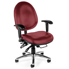 Vinyl Ergonomic Chairs