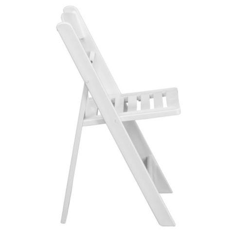 Mccalmont Classic Slat Seat Resin Folding Chair