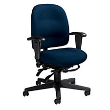 Granada Fabric Low Back Ergonomic Chair, CH03760