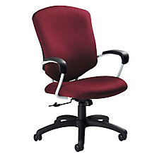 Supra High Back Fabric Executive Chair, CH02680