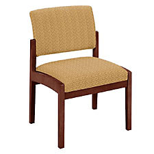 armless reception chairs