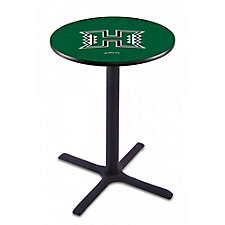 "College Logo X-Base Table - 36""DIA x 36""H, CH51439"
