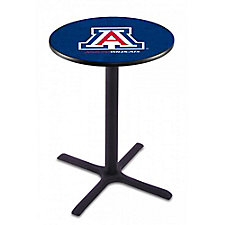 "College Logo X-Base Table - 28""DIA x 42""H, CH51440"