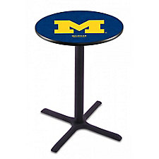 "College Logo X-Base Table - 36""DIA x 42""H, CH51441"