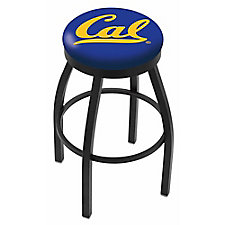"College Logo Stool with Vinyl Seat - 30""H, CH51437"