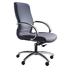 High Back Executive Chair with Chrome Frame, CH02776