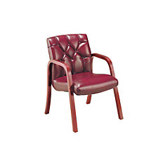 Traditional Leather Guest Chair, CH02792