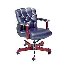 Traditional Leather Management Chair, CH02793