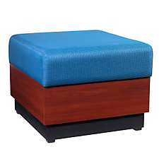 Modular One Seat Fabric Bench, CH50339