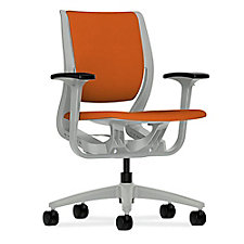 HON Purpose Fabric Task Chair with Adjustable Arms, CH50706