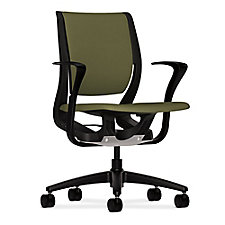HON Purpose Fabric Task Chair with Fixed Arms, CH50705