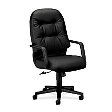 Pillow Soft High Back Leather Executive Chair, CH50370