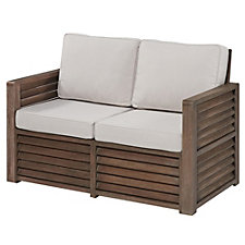 Barnside Polyester Indoor or Outdoor Loveseat, CH51077
