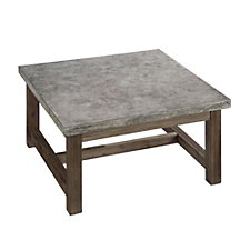 "Concrete Chic Square Coffee Table - 36""W, CH51081"