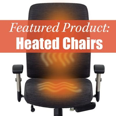 Turn Up the Heat This Winter With Our Heated Office Chairs!