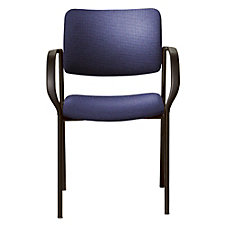 Tess Fabric Stack Chair with Arms, CH50961