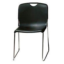 Addy Plastic Sled Base Stack Chair, CH51046
