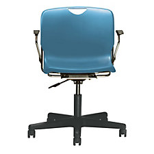 Addy Plastic Task Chair with Arms, CH51048