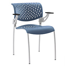 Hannah Plastic Guest Chair with Arms, CH51052