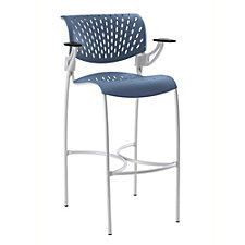 Hannah Plastic Stool with Arms, CH51056
