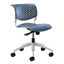 Hannah Armless Plastic Computer Chair, CH51057