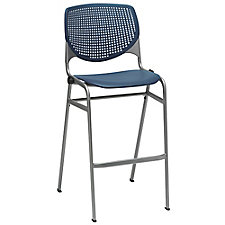 Perforated Back Polypropylene Stool , CH51887