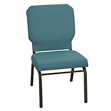 Armless Fabric Wing Stack Chair, CH50950