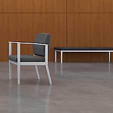 Amherst Steel Three Seat Bench, CH51458