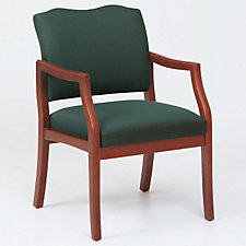 Traditional Style Wood Frame Guest Chair with Arms, CH03269