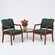 Traditional Style Two Seater with Corner Table, CH03274
