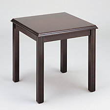 Madison Solid Wood Square End Table, CH50184