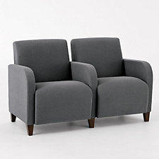 Siena Two Seat Loveseat with Center Arm, CH03976