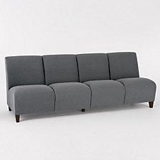 Siena Armless Four Seat Sofa, CH03981