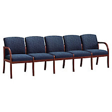 Fabric Transitional Style Five Seater, CH02958