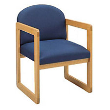Round Back Sled Base Guest Chair, CH02891