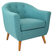 Rockwell Mid-Century Modern Fabric Guest Chair , CH51750