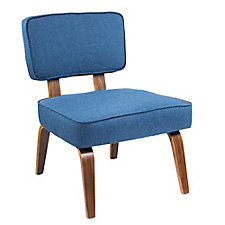 Nunzio Armless Fabric Accent Chair , CH51752