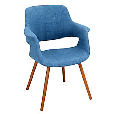 Flair Retro Fabric Accent Chair , CH51754
